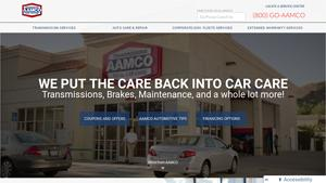 AAMCO Transmissions Website Image