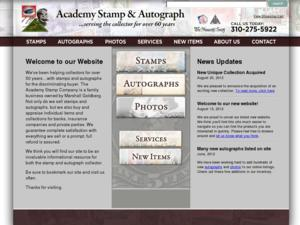 Academy Stamp & Autograph Co