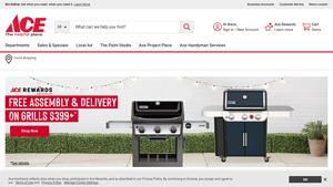 Cascade Ace Hardware Website Image