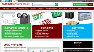 Emergency Lite Service Center Website Image