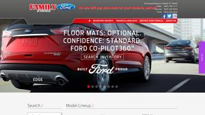 Family Ford Inc Website Image