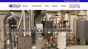 Flare Heating & Air Cond Inc