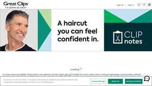 Great Clips Website Image