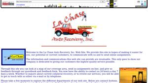 LA-Chase Auto Recovery Inc Website Image