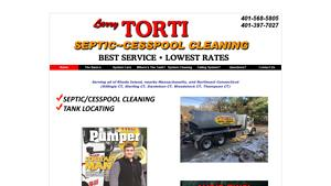 Larry Torti Paving Website Image