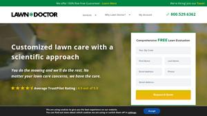 Lawn Doctor Website Image