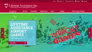 Lifetime Assistance Inc Website Image