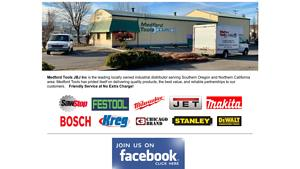 Medford Tools & Supply Inc Website Image