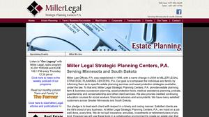 Miller Law Office Website Image