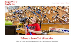 Oregon Tool & Supply Website Image