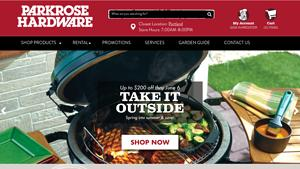Parkrose True Value Hardware Website Image