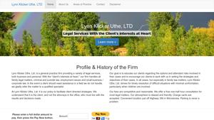 Lynn Klicker Uthe LTD Website Image