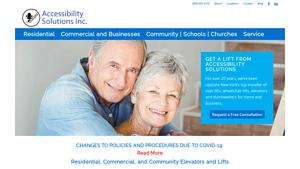Accessibility Solutions Website Image